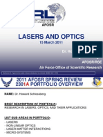 2. Schlossberg - Lasers and Optics