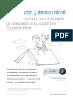 Dramatización y literatura infantil