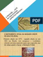 A iniciação cristã na vida eclesial - aspectos práticos