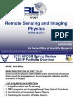 4. Miller - Remote Sensing and Imaging
