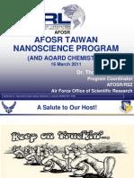 8. Erstfeld - AFOSR Taiwan nanoscience