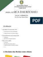 01 -Introdução Mecânica Das Rochas i
