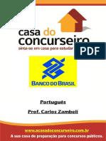 Apostila BB 2015 - Português - Carlos Zambeli