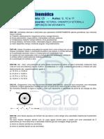 CINEMÁTICA – LISTA 5- A9-Vetores_ A10-Cinem.Vetorial e A11-Comp.mov.- Plataforma FINAL
