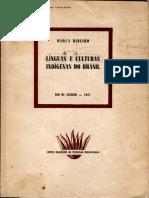 Ribeiro 1957 CulturasELinguasIndigenasBr