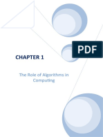 Algorithms Solutions CH 01 Oct2010