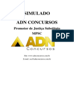 Simulado-MPSC