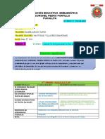 English Lesson Plan 5,Lunes 3