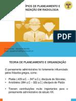 I - Princípios de Planejamento e Organização em Radiologia