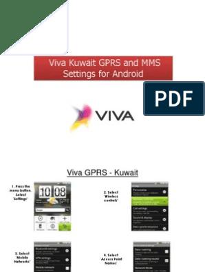 viva android setting