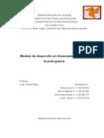 Analisis Critico Venezuela a Partir de La Post-Guerra