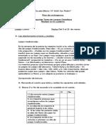Segunda Tarea Castellano-Matemática 2020