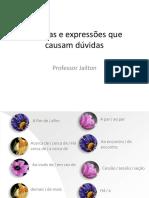 AS PALAVRAS QUE CAUSAM DUVIDAS -8 ANO