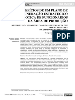 BENEFÍCIOS DE UM PLANO DE REMUNERAÇÃO ESTRATÉGICO SOB A ÓTICA DE FUNCIONÁRIOS  DA ÁREA DE PRODUÇÃO
