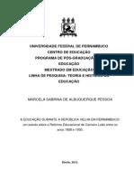 Marcela Sabrina de Albuquerque Pessoa - dissertação de mestrado- 2015 pdf