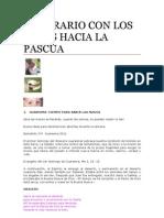 ITINERARIO CON LOS NIÑOS HACIA LA PASCUA