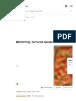 Blätterteig-Tomaten-Quadrate Von KarinG _ Chefkoch