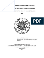 LAPORAN PRAKTIKUM KIMIA ORGANIK A-1
