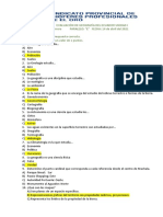 EVALUACIÓN DE GEOGRAFÍA DEL ECUADOR unidad I 2021