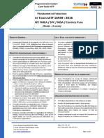 Programme Formation Core Tools IATF 16949 021