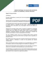 Declaración Presidente Iván Duque - 4 de Mayo 2021