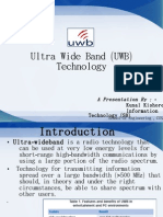Ultra Wide Band ( UWB ) Technology