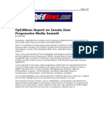 01-29-08 OpEdNews-OpEdNews Report on Senate Dem Progressive