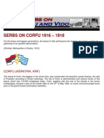Serbs on Corfu and Vido 1916-1918