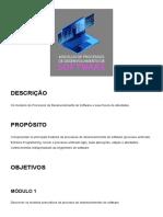 Modelo de processos de desenvolvimento de software