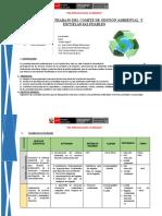 Plan Comité de Gestión Ambiental santa isabel