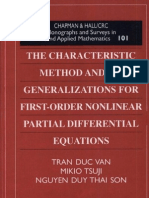 The Characteristic Method and Its Generalizations
