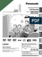 Panasonic-DVD Manual (1-4-09) DMRES45V