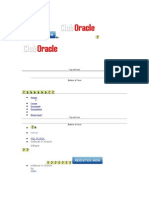 Indexes in Oracle