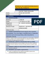 Analisis Jurisprudencial Sentencia C-083-95