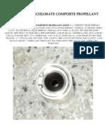 Ammonium perchlorate composite propellant