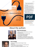 Book Summary_The other side of Innovation