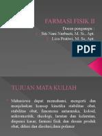 FARMASI FISIK II