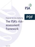FSA Risk Assessment Framework