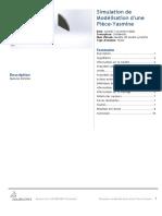 Modélisation d'une Pièce-Yasmine-Modèle 3D double symétrie-1
