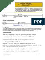 ED585 Integrating Technology 2010