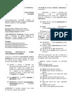 Português  - Concordância verbal e nominal - Atividades