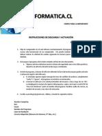Instrucciones de Descarga y Activación Psicoinformatica 2020-2021