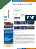 Pecol Bucha Metálica de Expansão HD PCL790