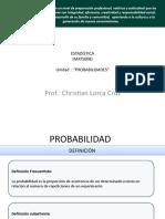 Probabilidades MATS008