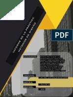 INFORME DE METODOS DE DISEÑO PDF