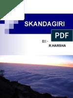 Skanda giri-HARSHA