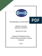 Final Report Askari Bank