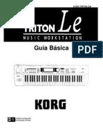 KORG TRITON Le basic guide (ESP)