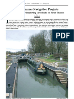 West Thames Navigation Projects