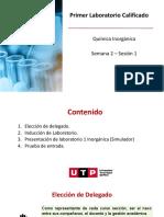 S02.s1 - Presentación  Laboratorio 1 Química Inorgánica